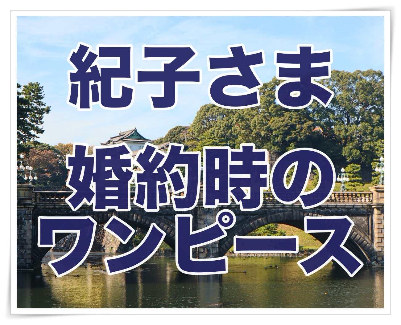 秋篠宮紀子さまが婚約会見で紺色のスーツを着た理由は?